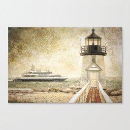 Brant Light Nantucket Canvas Print