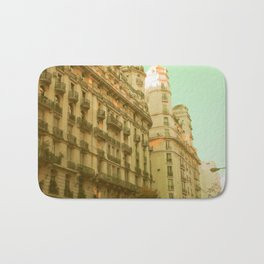 We Both Go Down (Retro and Vintage Urban, architecture photography) Bath Mat
