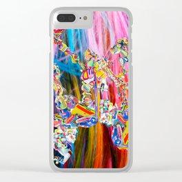 #lifeuniform 1 Clear iPhone Case