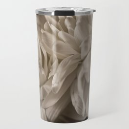 Delicate White Travel Mug