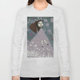 Clouds in June, Make them Bloom Long Sleeve T-shirt