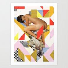 ODD 001 Art Print