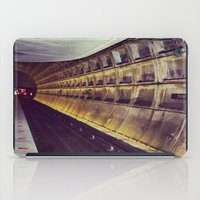 subway iPad Cases featuring Subway by wendygray