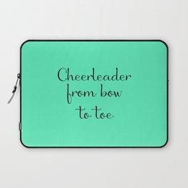 Cheerleader - Mint Laptop Sleeve
