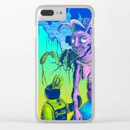 Perplex rabbit Clear iPhone Case