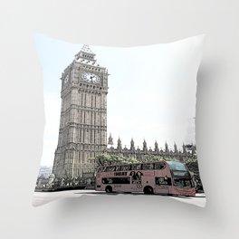 Big Ben II Throw Pillow