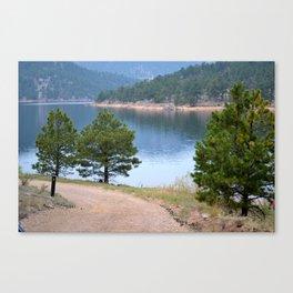 Rocky Mountain Lake 1 - M Canvas Print