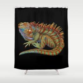 Iguana 2 Shower Curtain