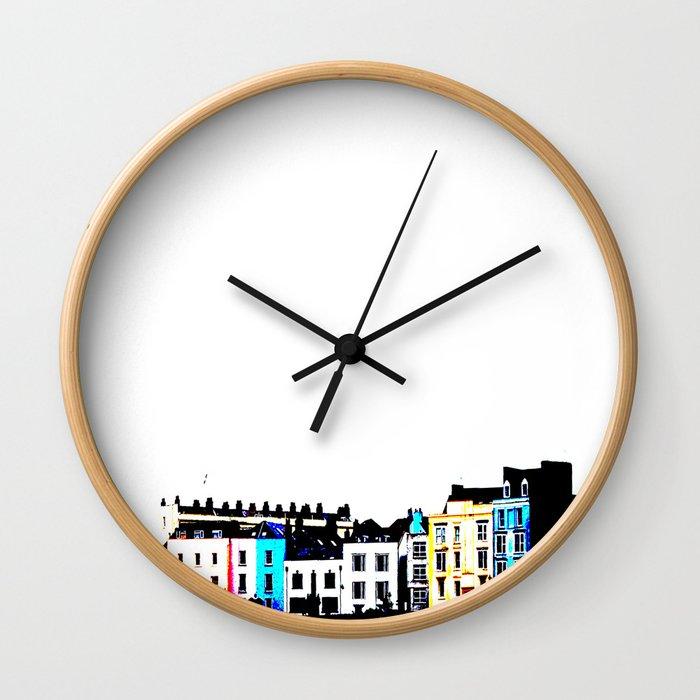 Clifton Colour Wall Clock