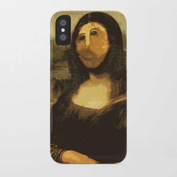 Ups! ( Mona Lisa - La Gioconda ) iPhone Case