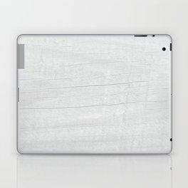 Gray Weathered Wood Laptop & iPad Skin
