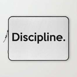 Discipline. Laptop Sleeve