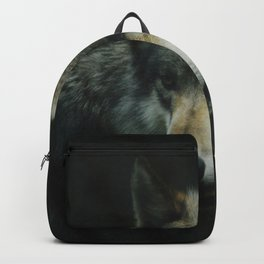 Gray Wolf (Color) Backpack