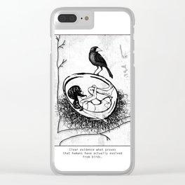 new bird Clear iPhone Case