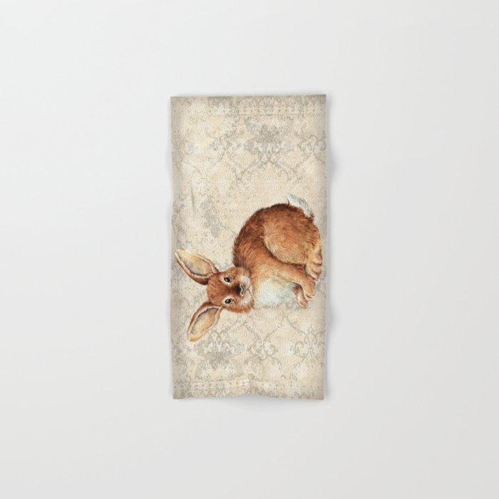 Rabbit Hand & Bath Towel