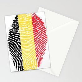 Belgian Flag Stationery Cards