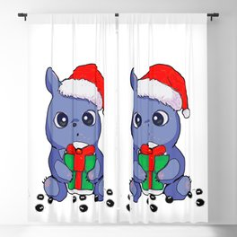 TotoroChristmas Blackout Curtain