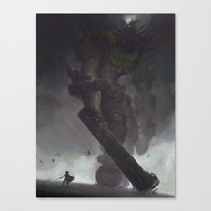 the Third Colossus Canvas Print