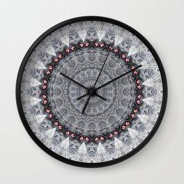 Mandala Eyes Wall Clock
