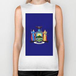 New York State Flag Biker Tank