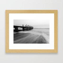 Flinders Bay Jetty, Western Australia Framed Art Print