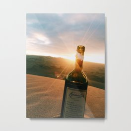 Vino del Sol Metal Print