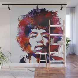 J. Hendrix Wall Mural