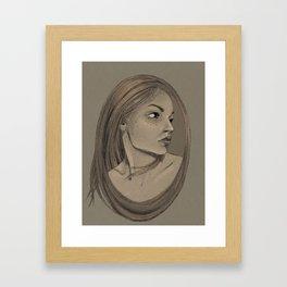 Framed Portrait Framed Art Print