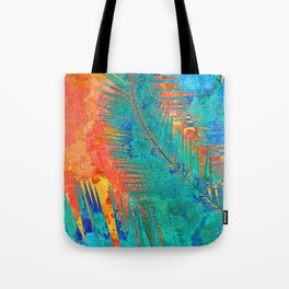 Vibrant jungle for Frida Tote Bag