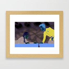"""""""Get up."""" Framed Art Print"""