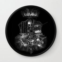 Sedlec V Wall Clock
