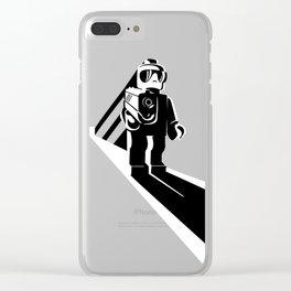 Legophobie Clear iPhone Case