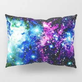 Fox Fur Nebula Dark & Vibrant Pillow Sham