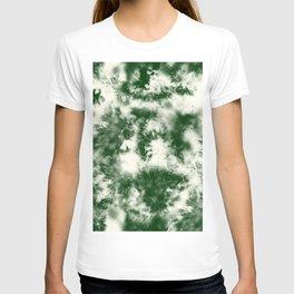 Green Tie Dye & Batik T-shirt