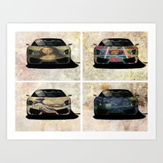 Lambo Art  Art Print