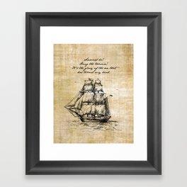 Treasure Island - Robert Louis Stevenson Framed Art Print