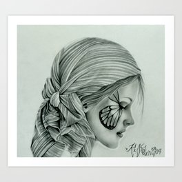 Gypsy Girl  Art Print