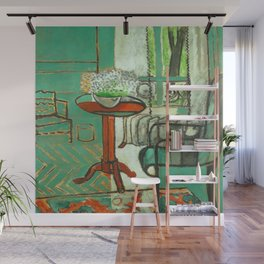 Henri Matisse The Green Room Wall Mural