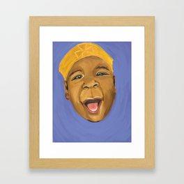 Kufi Baby Framed Art Print