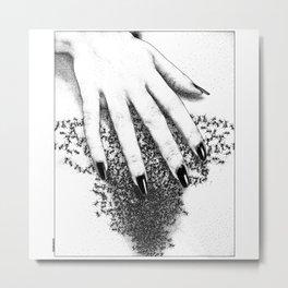 asc 838 - Les fourmillements (Please untangle my tingle) Metal Print