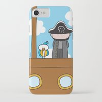 pirates iPhone & iPod Cases featuring Pirates by oekie