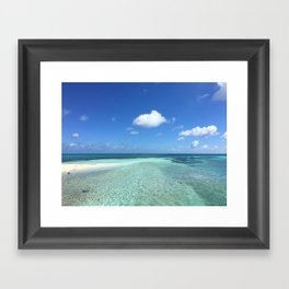 Summer Spot Framed Art Print