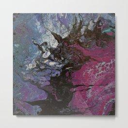 Vibrantly pink sun Metal Print