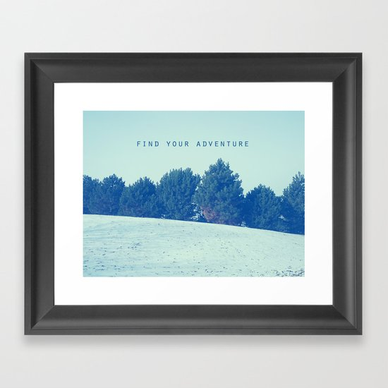 Find Your Adventure Framed Art Print