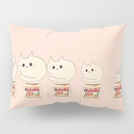cats and nutella 314 Pillow Sham