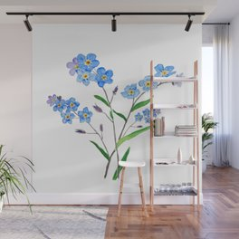 forget me not Wall Mural