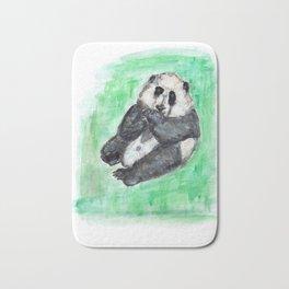 Scruffy panda Bath Mat
