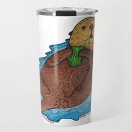Otterly Adorable Travel Mug