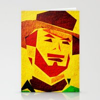 clint barton Stationery Cards featuring Clint by Triplea