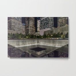 9-11 Memorial New York City Metal Print